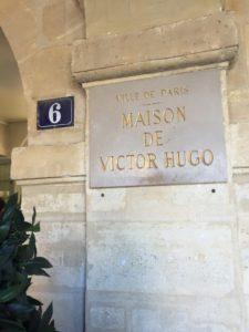 Casa de Victor Hugo, em Paris, na França