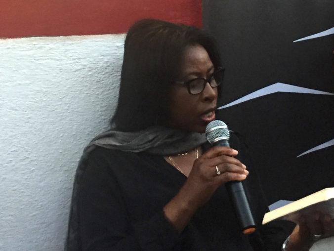 A escritora ruandesa Scholastique Mukasonga na Flip 2017